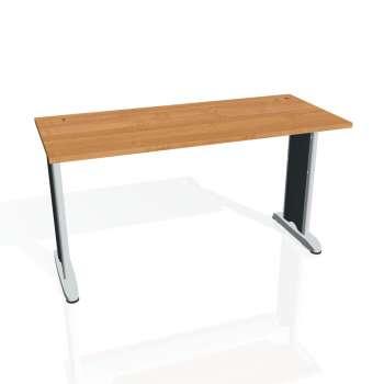 Psací stůl Hobis FLEX FE 1400, olše/kov