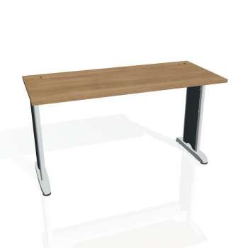 Psací stůl Hobis FLEX FE 1400, višeň/kov