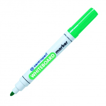 Popisovač na bílé tabule Centropen 8559 - zelená , kulatý hrot