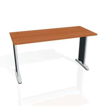 Psací stůl Hobis FLEX FE 1400, třešeň/kov