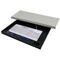 Držák klávesnice pod desku stolu - černý