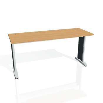 Psací stůl Hobis FLEX FE 1600, buk/kov