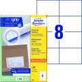 Univerzální etikety Avery Zweckform - bílé, 105 x 74 mm, 800 ks