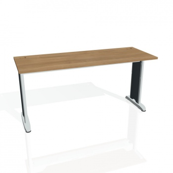 Psací stůl Hobis FLEX FE 1600, višeň/kov