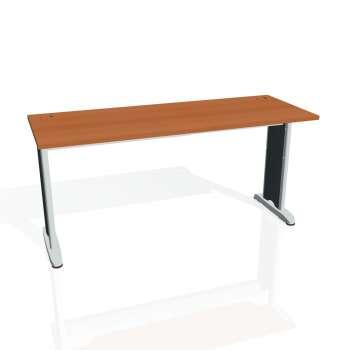 Psací stůl Hobis FLEX FE 1600, třešeň/kov