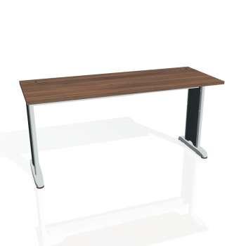 Psací stůl Hobis FLEX FE 1600, ořech/kov