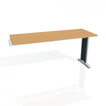 Psací stůl Hobis FLEX FE 1600 R, buk/kov