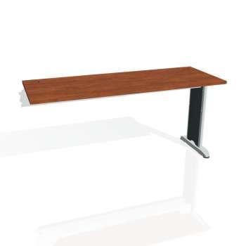 Psací stůl Hobis FLEX FE 1600 R, calvados/kov