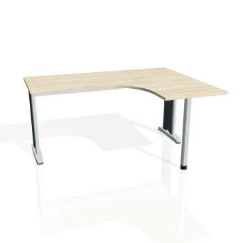 Psací stůl Hobis FLEX FE 60 levý, akát/kov