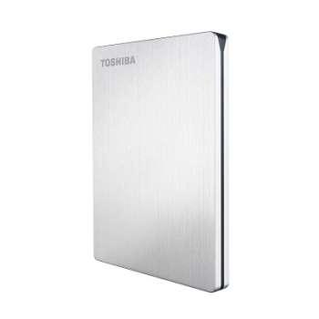 "Externí harddisk Toshiba Stor.e Slim - 2,5"", 500 GB, stříbrný"