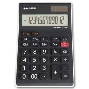 Kalkulačka Sharp EL-124 TWH