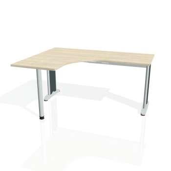 Psací stůl Hobis FLEX FE 60 pravý, akát/kov