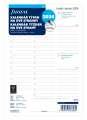 Náhradní náplň diáře Filofax - A5,  týden na 2 strany