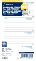 Náhradní náplň diáře Filofax A6 - týden/2strany