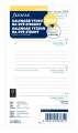Náhradní náplň diáře Filofax - A6,  týden na 2 strany