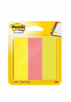 Bločky značkovací Post-it 25,0 mm