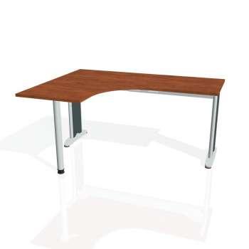 Psací stůl Hobis FLEX FE 60 pravý, calvados/kov