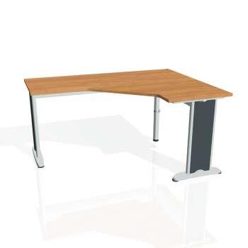 Psací stůl Hobis FLEX FEV 60 levý, olše/kov