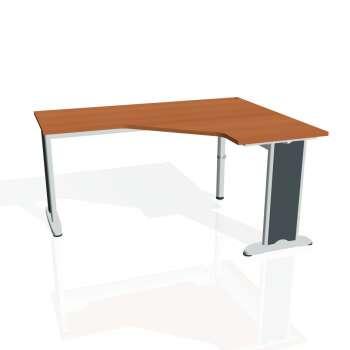 Psací stůl Hobis FLEX FEV 60 levý, třešeň/kov