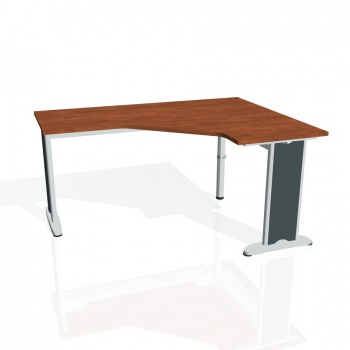 Psací stůl Hobis FLEX FEV 60 levý, calvados/kov