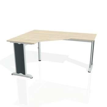 Psací stůl Hobis FLEX FEV 60 pravý, akát/kov