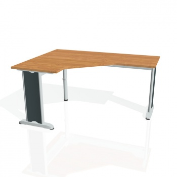 Psací stůl Hobis FLEX FEV 60 pravý, olše/kov