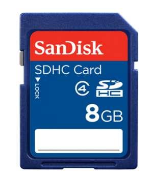 Karta paměťová typ SDHC SanDisk - 8 GB