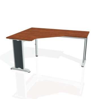Psací stůl Hobis FLEX FEV 60 pravý, calvados/kov