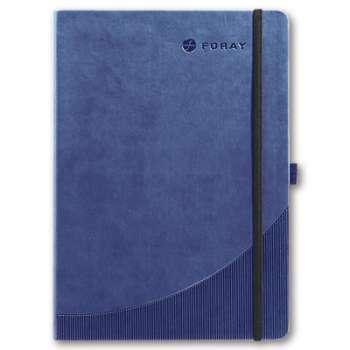 Zápisník Foray - A5, 96 listů, linkovaný, modrý, pevné desky