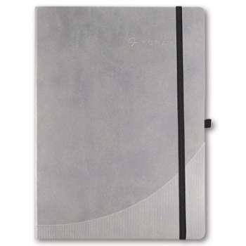 Zápisník Foray - A5, 96 listů, linkovaný, šedý, pevné desky