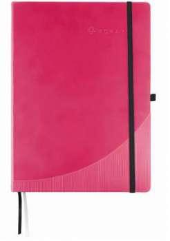 Blok Foray A5 linkovaný, růžový