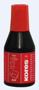 Razítková barva Kores 28 ml červená