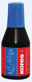 Razítková barva Kores 28 ml modrá