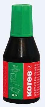 Razítková barva Kores 28 ml zelená