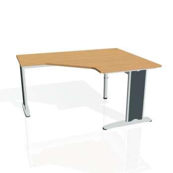 Psací stůl Hobis FLEX FEV 80 levý, buk/kov