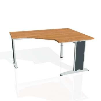 Psací stůl Hobis FLEX FEV 80 levý, olše/kov