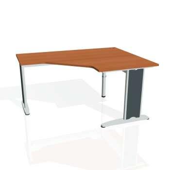 Psací stůl Hobis FLEX FEV 80 levý, třešeň/kov