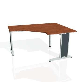 Psací stůl Hobis FLEX FEV 80 levý, calvados/kov