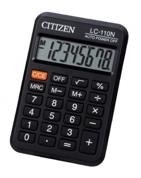 Kapesní kalkulačka Citizen LC-110N