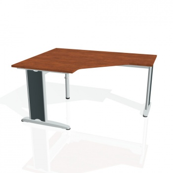 Psací stůl Hobis FLEX FEV 80 pravý, calvados/kov
