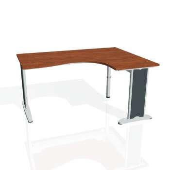 Psací stůl Hobis FLEX FE 2005 levý, calvados/kov