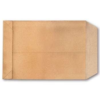 Tašky obchodní B5 - s křížovým dnem a textilní výztuží, bez lepidla, 10 ks