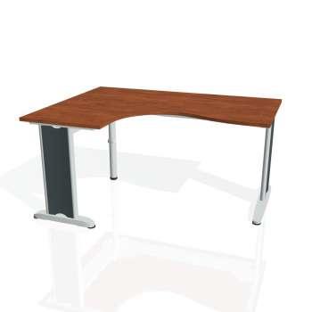 Psací stůl Hobis FLEX FE 2005 pravý, calvados/kov