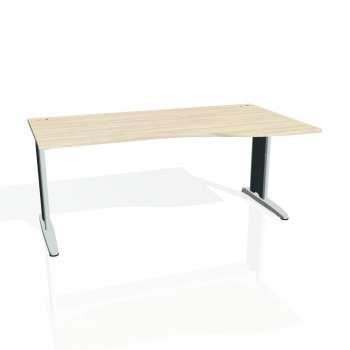 Psací stůl Hobis FLEX FE 1000 levý, akát/kov