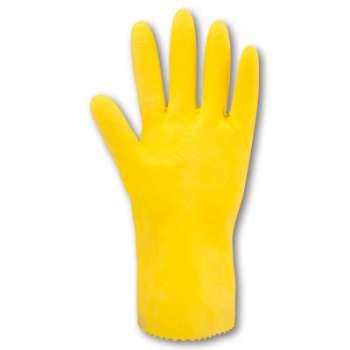 Pracovní rukavice latexové e  STANLEY, vel. S