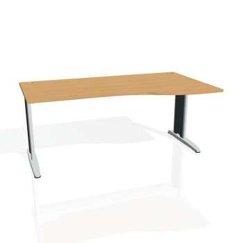 Psací stůl Hobis FLEX FE 1000 levý, buk/kov