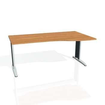 Psací stůl Hobis FLEX FE 1000 levý, olše/kov