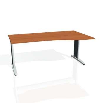 Psací stůl Hobis FLEX FE 1000 levý, třešeň/kov