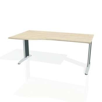 Psací stůl Hobis FLEX FE 1000 pravý, akát/kov