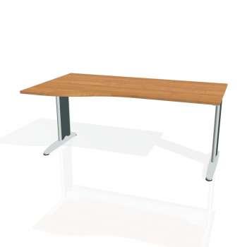 Psací stůl Hobis FLEX FE 1000 pravý, olše/kov
